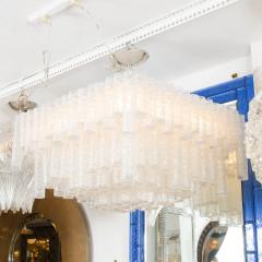 Kalmar Tiered Ice Inspired Glass Chandelier - 68365
