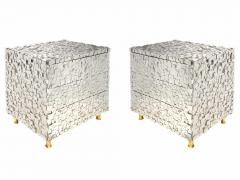 Kam Tin Pyrite nightstand - 1263266