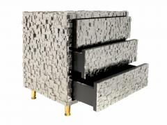 Kam Tin Pyrite nightstand - 1263272