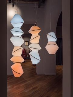 Karhof Trotereau KELVIN Totem lamps single lights or light installation - 1325080