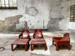 Kartell JUST ARRIVED 70s Lounge set Italian Design  - 2134041