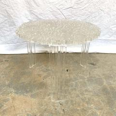 Kartell Patricia Urquiola T Table Lucite Table Model 8501 for Kartell Italy 2001 - 1610222