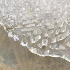Kartell Patricia Urquiola T Table Lucite Table Model 8501 for Kartell Italy 2001 - 1610249