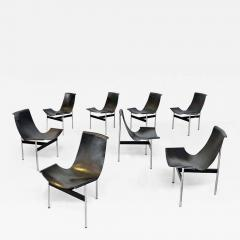 Katavolos Littel Kelly Set of T chairs by W Katavolos D Kelley and R Littell for Laverne 1952 - 2081523