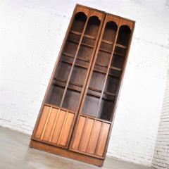 Keller Manufacturing Keller furniture mcm lighted display cabinet bookcase - 1598292