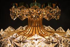 Kinkeldey Kinkeldey Gilt Brass Chandelier 1960s - 1297968