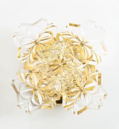 Kinkeldey Pair of 1960s Crystal Sconces by Kinkeldey  - 1137326