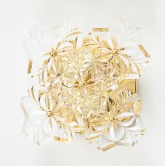 Kinkeldey Pair of 1960s Crystal Sconces by Kinkeldey  - 1137336