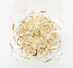 Kinkeldey Pair of 1960s Crystal Sconces by Kinkeldey  - 1137338