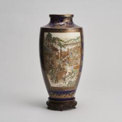 Kinkozan A large Japanese Meiji Period Satsuma vase by Kinkozan - 1368898