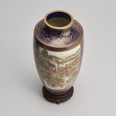 Kinkozan A large Japanese Meiji Period Satsuma vase by Kinkozan - 1368899