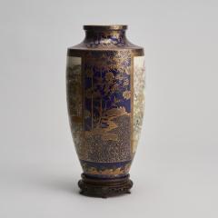 Kinkozan A large Japanese Meiji Period Satsuma vase by Kinkozan - 1368900
