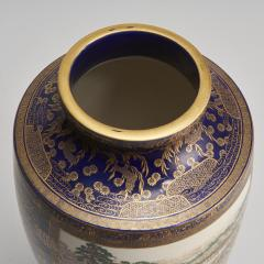 Kinkozan A large Japanese Meiji Period Satsuma vase by Kinkozan - 1368903