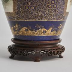 Kinkozan A large Japanese Meiji Period Satsuma vase by Kinkozan - 1368907