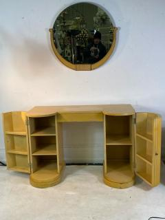 Kittinger Furniture Co ART DECO VANITY AND MIRROR BY KITTINGER - 1909940