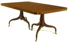 Kittinger Furniture Co Kittinger Mahogany Dining Table With