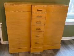 Kittinger Furniture Co RARE ART DECO MULTI DRAWER LINGERIE CHEST BY KITTINGER - 1909932
