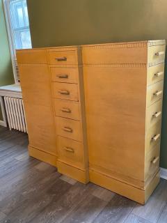 Kittinger Furniture Co RARE ART DECO MULTI DRAWER LINGERIE CHEST BY KITTINGER - 1909933