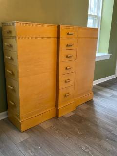 Kittinger Furniture Co RARE ART DECO MULTI DRAWER LINGERIE CHEST BY KITTINGER - 1909934