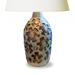 Knabstrup Table Lamp with Graphic Design by Knabstrup Pottery - 1692068