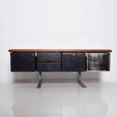Knoll 1960s Massive Executive Leather Sideboard Credenza by Warren Platner for KNOLL - 2018529