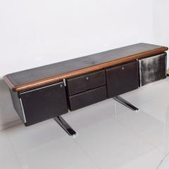 Knoll 1960s Massive Executive Leather Sideboard Credenza by Warren Platner for KNOLL - 2018530