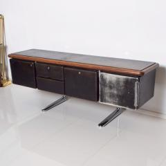 Knoll 1960s Massive Executive Leather Sideboard Credenza by Warren Platner for KNOLL - 2018531