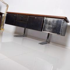 Knoll 1960s Massive Executive Leather Sideboard Credenza by Warren Platner for KNOLL - 2018532