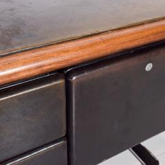 Knoll 1960s Massive Executive Leather Sideboard Credenza by Warren Platner for KNOLL - 2018538