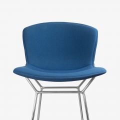 Knoll Bertoia Upholstered Barstools in Fiberglass KnollTextiles Fabric Set of 3 - 2013079