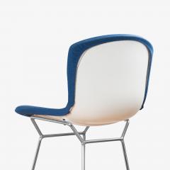 Knoll Bertoia Upholstered Barstools in Fiberglass KnollTextiles Fabric Set of 3 - 2013080
