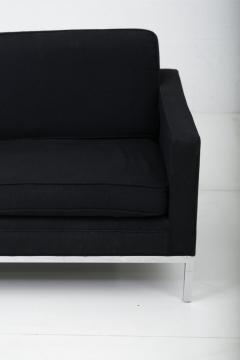 Knoll Black and Chrome Sofa by Jack Cartwright - 1912010