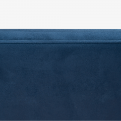 Knoll Brno Flat Bar Chairs in Navy Ultrasuede by Mies van der Rohe for Knoll Set of 8 - 1775667