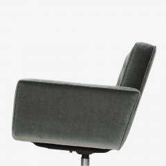 Knoll Cafiero Executive Task Chair in Graphite Velvet by Vincent Cafiero for Knoll - 2053348