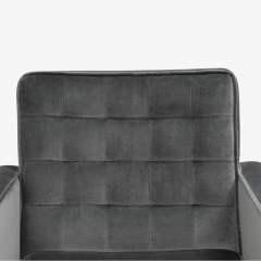 Knoll Cafiero Executive Task Chair in Graphite Velvet by Vincent Cafiero for Knoll - 2053351