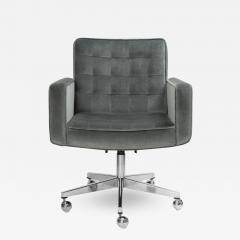 Knoll Cafiero Executive Task Chair in Graphite Velvet by Vincent Cafiero for Knoll - 2053983