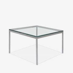 Knoll Florence Knoll Coffee End Tables in Glass Chrome by Florence Knoll for Knoll - 2082124