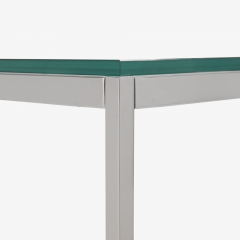 Knoll Florence Knoll Coffee End Tables in Glass Chrome by Florence Knoll for Knoll - 2082128