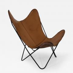 Knoll Hardoy Leather Butterfly Chair   127442