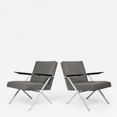 Knoll International Ladislav Rado Cantilevered Lounge Chairs for Knoll and Drake 1950s - 991408
