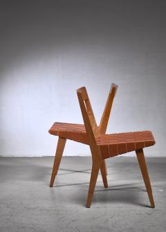 Knoll Jens Risom pair of webbed chairs for Knoll - 1559503