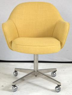 Knoll Knoll Desk Chair in Yellow Microfiber - 246807