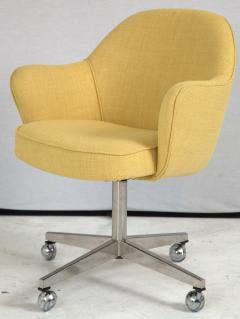 Knoll Knoll Desk Chair in Yellow Microfiber - 246809