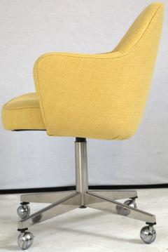 Knoll Knoll Desk Chair in Yellow Microfiber - 246812