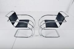 Knoll Mies van der Rohe MR20 Armchairs for Knoll - 2032109