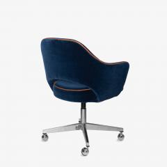 Knoll Saarinen Executive Arm Chair in Mohair Leather by Eero Saarinen for Knoll - 1899080