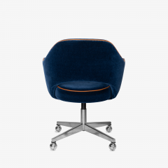 Knoll Saarinen Executive Arm Chair in Mohair Leather by Eero Saarinen for Knoll - 1899081