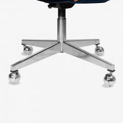 Knoll Saarinen Executive Arm Chair in Mohair Leather by Eero Saarinen for Knoll - 1899083