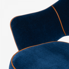 Knoll Saarinen Executive Arm Chair in Mohair Leather by Eero Saarinen for Knoll - 1899085