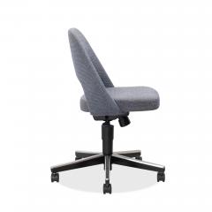 Knoll Saarinen Executive Armless Chair Swivel Base by Eero Saarinen for Knoll - 1838818
